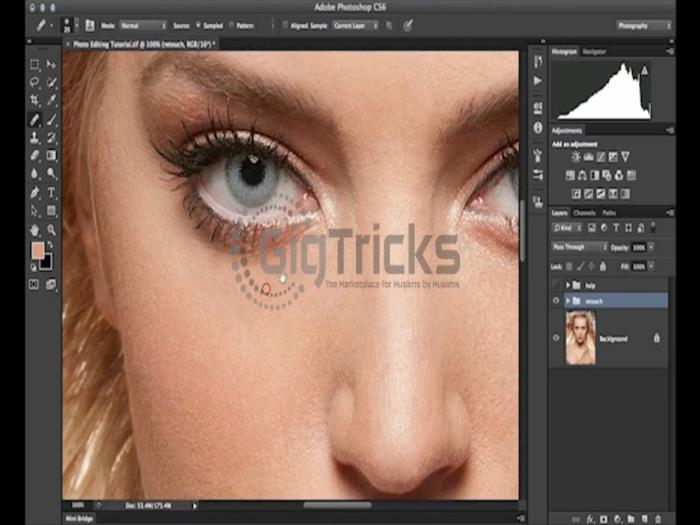 Get your stuff edited though Photoshop or Lightroom