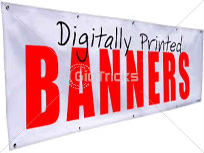 I will design Signboards,Logos & Banners