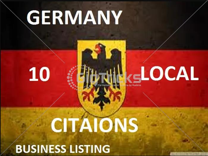 I Will Create 50 Germany Local Citations
