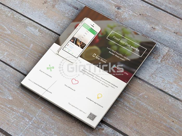 I Will Design Print Ready Flyer For The  Advertisement Of Your Mobile Apps