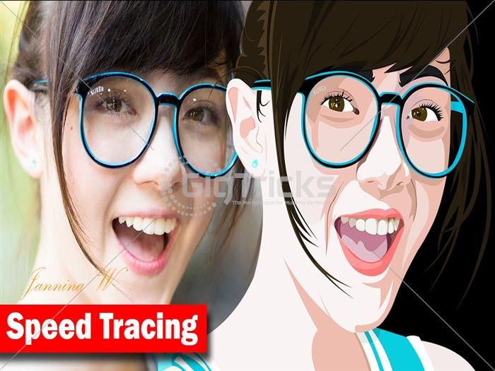 i will design and create Vector Tracing