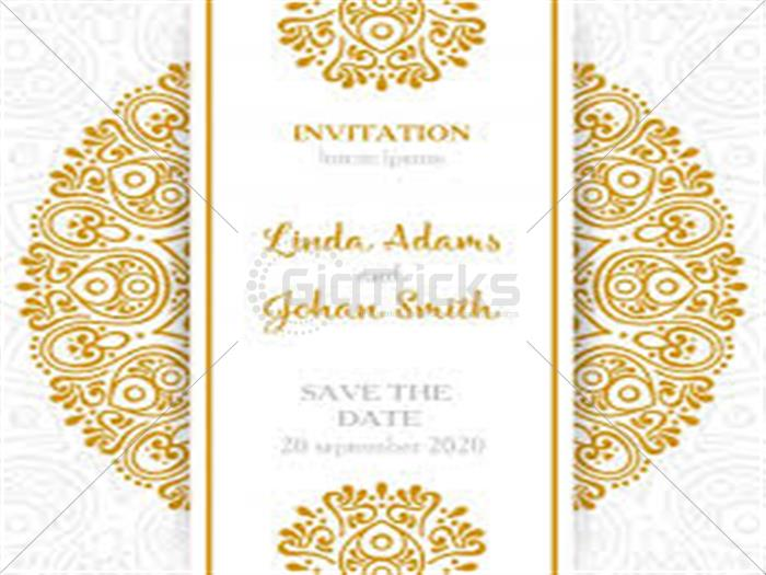 i will design wedding cards birthday cards for you