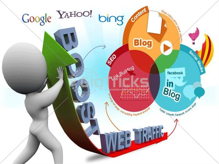 I Will Do 1m Web Traffic For Your Business